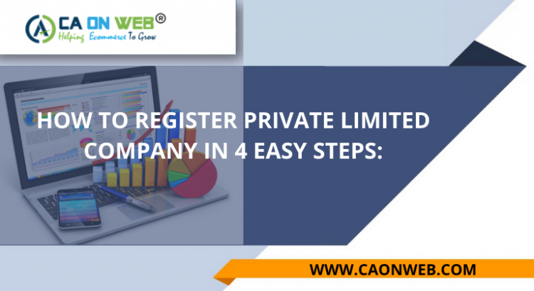 HOW TO REGISTER PRIVATE LIMITED COMPANY IN 4 EASY STEPS